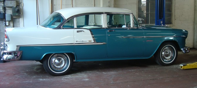 55 Chevrolet Bel Air